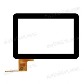 TRUST FPCA10101400-002 Digitizer Glass Touch Screen Replacement for 10.1 Inch MID Tablet PC