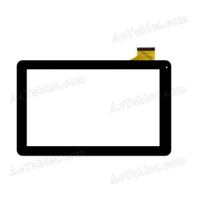 WJ608-V1.0 Digitizer Glass Touch Screen Replacement for 10.1 Inch MID Tablet PC