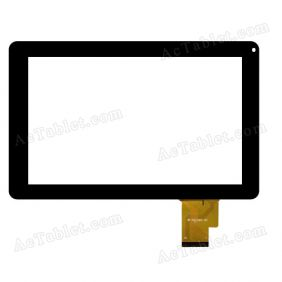 MF-558-090F FPC Digitizer Glass Touch Screen Replacement for 9 Inch MID Tablet PC