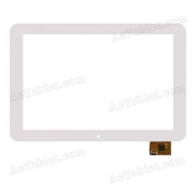 WGJ1086-V1 Digitizer Glass Touch Screen Replacement for 10.1 Inch MID Tablet PC