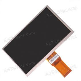 YQLC700h50-B RXD Inner LCD HD Display Screen for 7 Inch Android Tablet PC 1024*600px