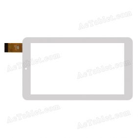 CTD FM706701KE Digitizer Glass Touch Screen Replacement for 7 Inch MID Tablet PC