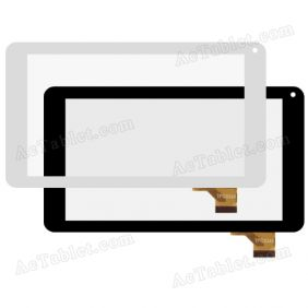 TPC0265 Digitizer Glass Touch Screen Replacement for 7 Inch MID Tablet PC