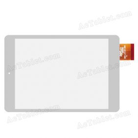 "Digitizer Touch Screen Replacement for GoClever ORION 785 7.85"" Quad Core Tablet PC"