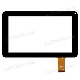 MF-539-090F-2 FPC Digitizer Glass Touch Screen Replacement for 9 Inch MID Tablet PC