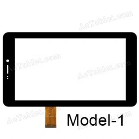 Touch Screen for Datawind UbiSlate 7CZ 7 Inch MID Tablet PC - Replacement Digitizer Panel