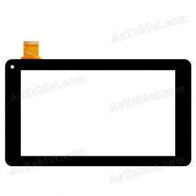 MA-Z7Z233 Digitizer Glass Touch Screen Replacement for 7 Inch MID Tablet PC