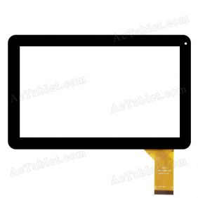 QSD 701-10054-03 Digitizer Touch Screen Replacement for 10.1 Inch MID Tablet PC