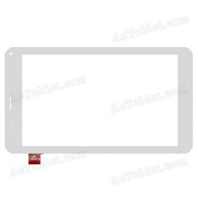 FPC-TP070341(U51GT)-04 Digitizer Glass Touch Screen Replacement for 7 Inch MID Tablet PC
