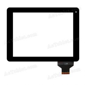 TPC-50146-V1.0 Digitizer Glass Touch Screen Panel for 9.7 Inch Android Tablet PC