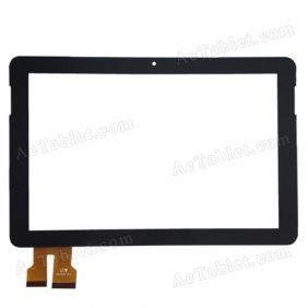 TPC-50181 V2.0 Digitizer Glass Touch Screen Replacement for 10.1 Inch MID Tablet PC