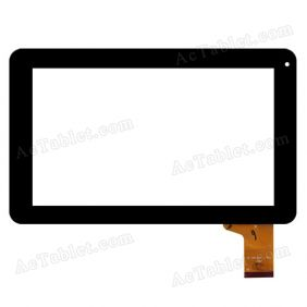 YCF0147-B Digitizer Glass Capacitive Touch Screen for 9 Inch MID Android Tablet PC