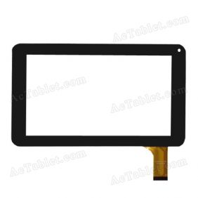 ZJ-70012A0-FPC Digitizer Glass Touch Screen Replacement for 7 Inch MID Tablet PC
