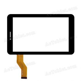 YCG-C7.0-0187A-FPC-01 Digitizer Glass Touch Screen Replacement for 7 Inch MID Tablet PC