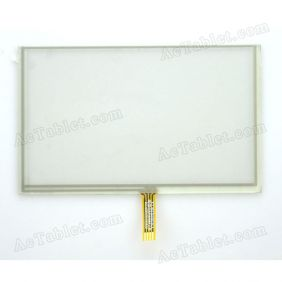 A1882A-G Digitizer Glass Touch Screen Replacement for 5 Inch MID Tablet PC