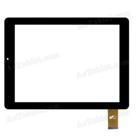 080060-01A-V1 Digitizer Glass Touch Screen Replacement for 8 Inch MID Tablet PC