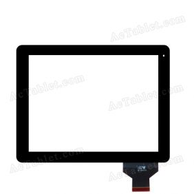 HY TPC50146 Digitizer Glass Touch Screen Replacement for 9.7 Inch MID Tablet PC