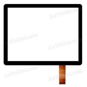 MT70801-V5 Digitizer Glass Touch Screen Replacement for 8 Inch MID Tablet PC