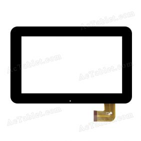 PB70DR9011-R1 Digitizer Glass Touch Screen Replacement for 7 Inch MID Tablet PC