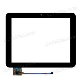 PB80DR8140-R1 Digitizer Glass Touch Screen Replacement for 8 Inch MID Tablet PC