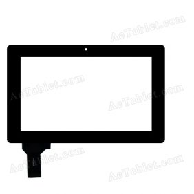 CG7069 HS1181 Digitizer Glass Touch Screen Replacement for 7 Inch MID Tablet PC