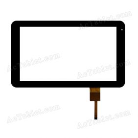 HOTATOUCH C157265A1-DRFPC028T-V3.0 Digitizer Glass Touch Screen Replacement for 10.1 Inch MID Tablet PC