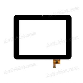PB80M805_01 Digitizer Glass Touch Screen Replacement for 8 Inch MID Tablet PC