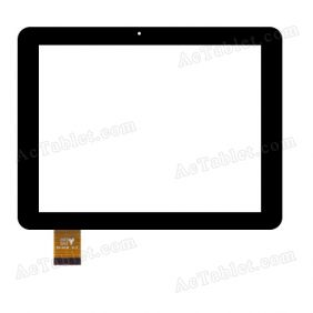 PB80DR8286 Digitizer Glass Touch Screen Replacement for 8 Inch MID Tablet PC