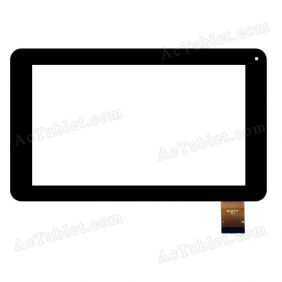 DR1657-D Digitizer Glass Touch Screen Replacement for 7 Inch MID Tablet PC