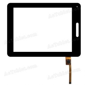 TOPSUN_V9IS_A5 Digitizer Glass Touch Screen Replacement for 8 Inch MID Tablet PC