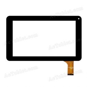 TYF1021-20121127-V2 Digitizer Glass Touch Screen Replacement for 7 Inch MID Tablet PC