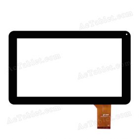 FHF90025 Digitizer Glass Touch Screen Replacement for 9 Inch MID Tablet PC