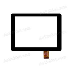 300-L4315A-A00 Digitizer Glass Touch Screen Replacement for 8 Inch MID Tablet PC
