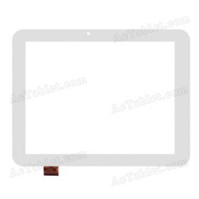 MT70812-V8 Digitizer Glass Touch Screen Replacement for 8 Inch MID Tablet PC