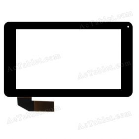 C109191A1-DRFPC097T-V1.0 Digitizer Glass Touch Screen Replacement for 7 Inch MID Tablet PC