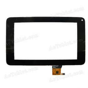 C118195A2-GGDRFPC087T-V2 Digitizer Glass Touch Screen Replacement for 7 Inch MID Tablet PC