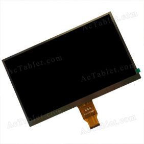 W1404014HYX LCD Display Screen Replacement for 10.1 Inch Tablet PC