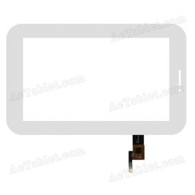 AD-C-700096-FPC Digitizer Glass Touch Screen Replacement for 7 Inch MID Tablet PC