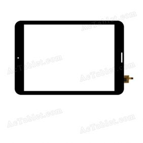AD-C-781072(LOCA) XL Digitizer Glass Touch Screen Replacement for 7.9 Inch MID Tablet PC
