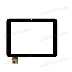 080075-01A-1-V1 Digitizer Glass Touch Screen Replacement for 8 Inch MID Tablet PC