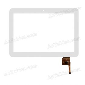 SG5427A-FPC-V0 Digitizer Glass Touch Screen Replacement for 10.1 Inch MID Tablet PC