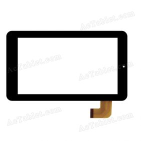 MJK-0112-V1.0 Digitizer Glass Touch Screen Replacement for 7 Inch MID Tablet PC