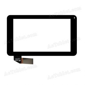 HXC0136-7048-1 Digitizer Glass Touch Screen Replacement for 7 Inch MID Tablet PC