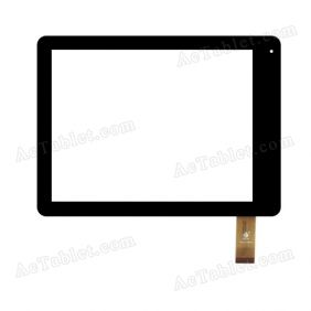 TPC0229 VER1.0 Digitizer Glass Touch Screen Replacement for 8 Inch MID Tablet PC