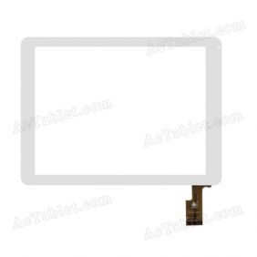 TPC0251 VER1.0 Digitizer Glass Touch Screen Replacement for 8 Inch MID Tablet PC