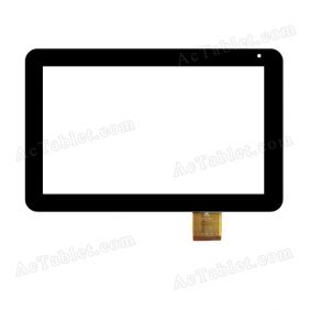 TPC0204 VER1.0 Digitizer Glass Touch Screen Replacement for 10.1 Inch MID Tablet PC