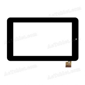 TPC0220 VER1.0 Digitizer Glass Touch Screen Replacement for 7 Inch MID Tablet PC