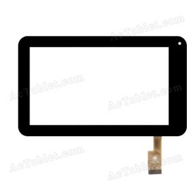 TPC0350 VER2.0 Digitizer Glass Touch Screen Replacement for 7 Inch MID Tablet PC