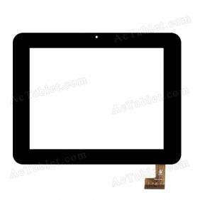 TPC0532 VER2.0 Digitizer Glass Touch Screen Replacement for 8 Inch MID Tablet PC