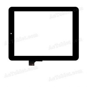 HOTATOUH C148197B2 DRFPC113T-V1.0 Digitizer Glass Touch Screen Replacement for 8 Inch MID Tablet PC